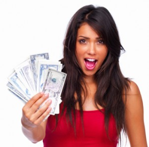 woman money Affiliate Marketing Crash Course